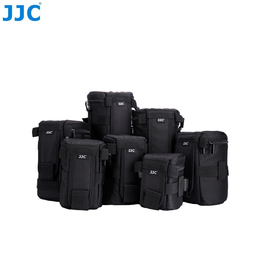 JJC étanche de luxe caméra lentille sac pochette pour Canon/Sony/Nikon/JBL Xtreme Polyester coque souple reflex numérique boîte ceinture de photographie