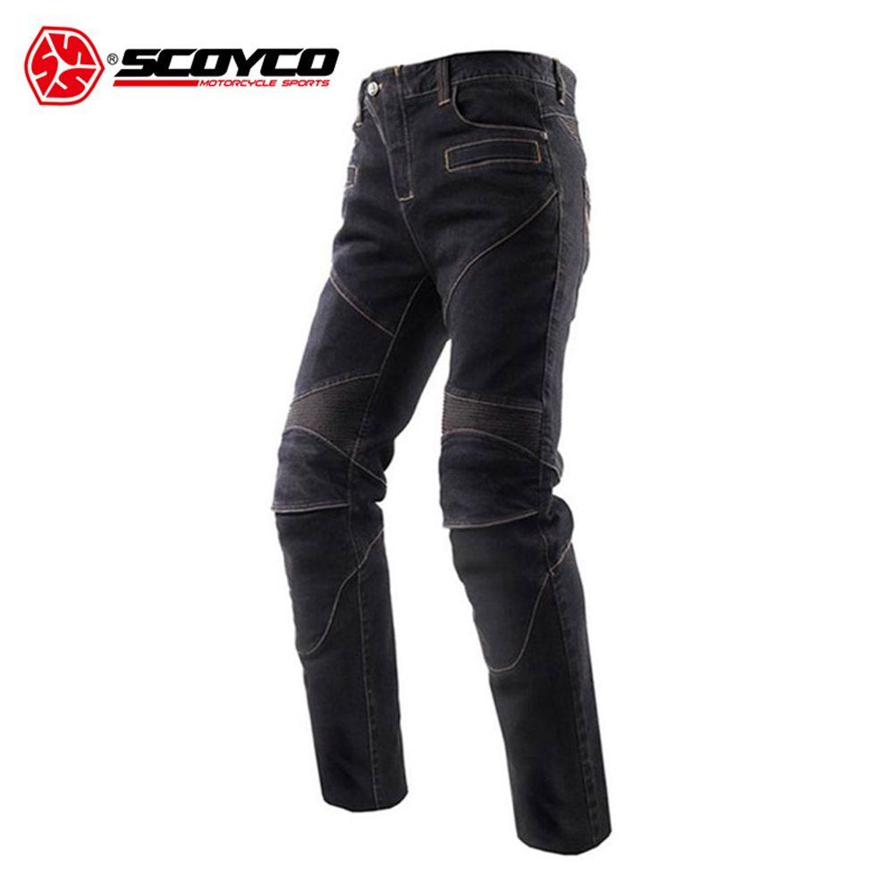 SCOYCO Motorrad Jeans Motorrad Hosen Hosen männer Off-Road Racing Hosen Motorrad Jeans mit CE Protektoren S-XXXL