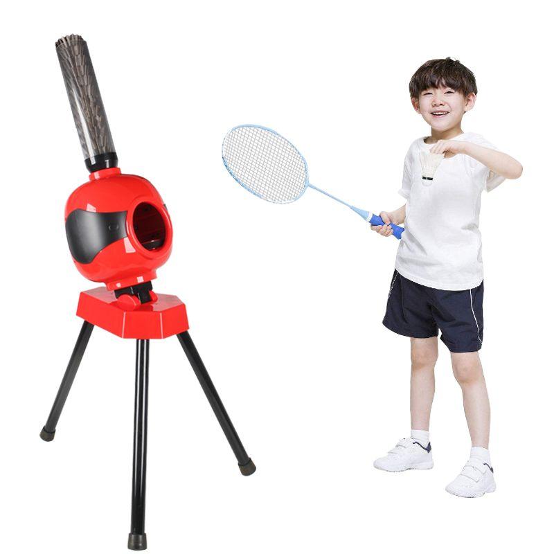 Badminton Automatische dienen maschine kinder badminton trainer Tragbare badminton training maschine Gesundheit ist die beste geschenk Y