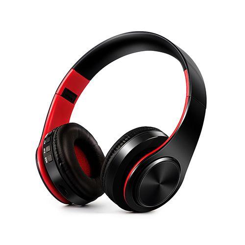 ZAPET nouveauté coloré stéréo Audio Mp3 Bluetooth casque pliable sans fil casque écouteurs support carte SD avec micro