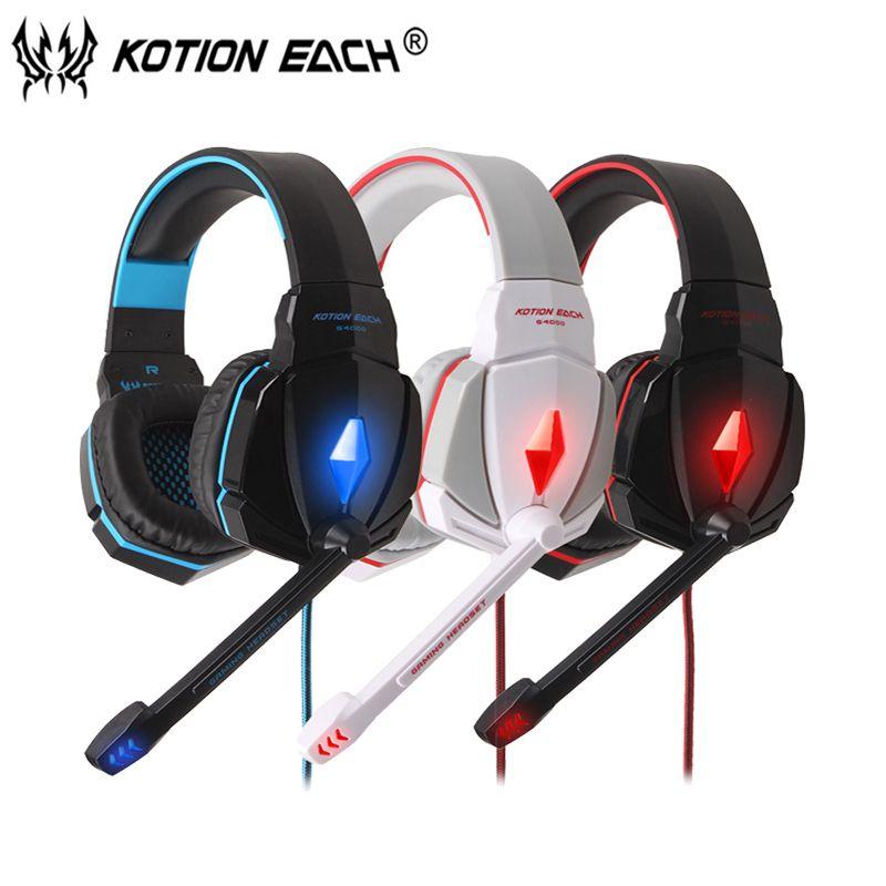 Beste PC Gamer Casque Hifi Gaming Kopfhörer Für Computer Wired Gaming Headset Mit Mikrofon Led-leuchten Musik Kopfhörer Bwl
