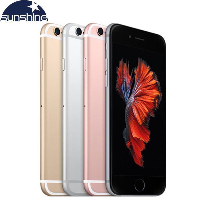 Débloqué Original Apple iPhone 6 S/iPhone 6 S Plus Mobile téléphone 12.0MP 2G RAM 16/32/64/128G ROM 4G LTE Dual Core WIFI Cellulaire téléphones