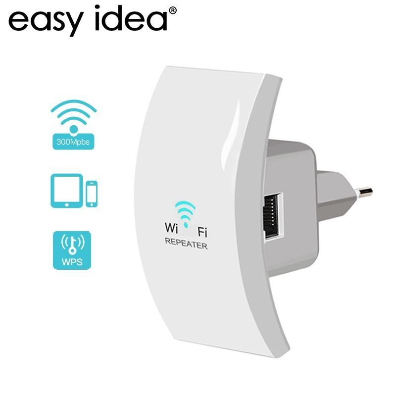 Wifi Repeater 300mbps Wi fi Amplifier 2.4G Wi-Fi Range Extender Mini Wireless Signal Booster Repeater 802.11n/b/g Repetidor Wifi