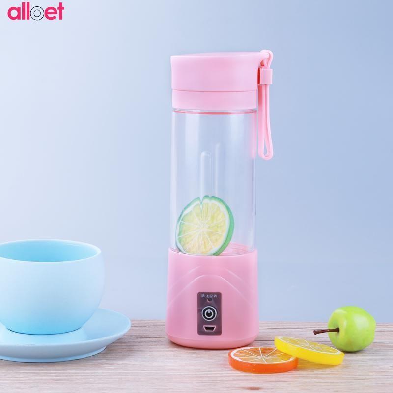 Mini USB Portable Multifunctional Electric Fruit Juicer Smoothie Maker Blender Juice Machine Handle Vegetable Squeezer Bottle Dr