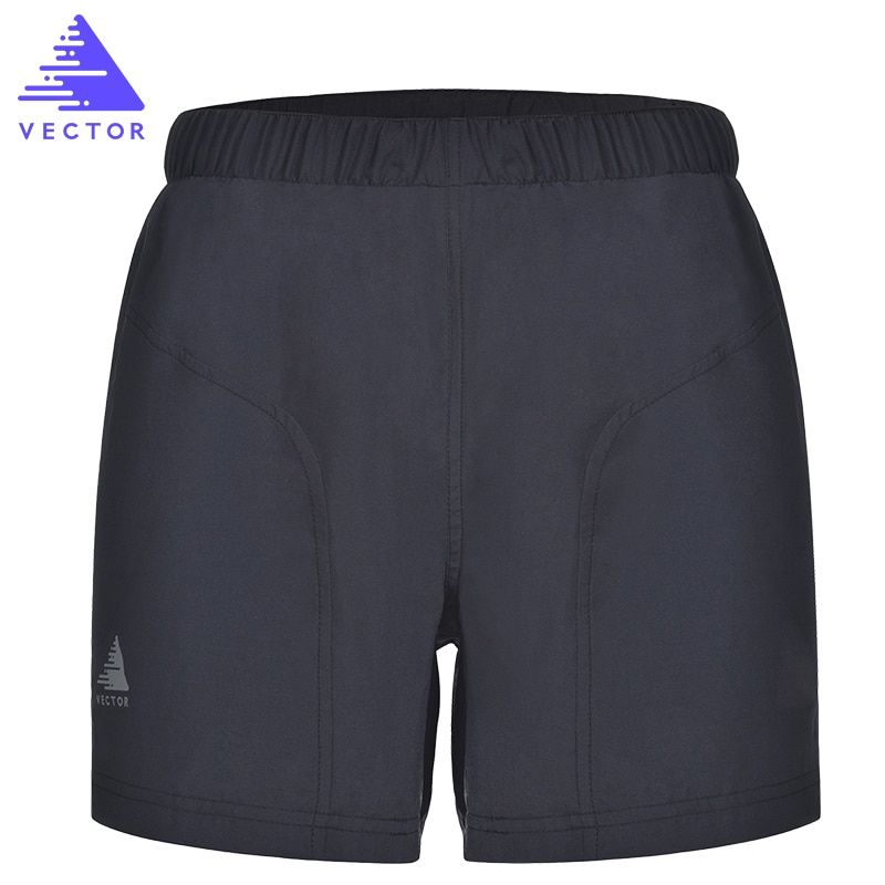 VECTOR Quick Dry Running Shorts Breathable Gym Sports Shorts for Outdoor Double Lining Man Woman Fitness Shorts KUD50028