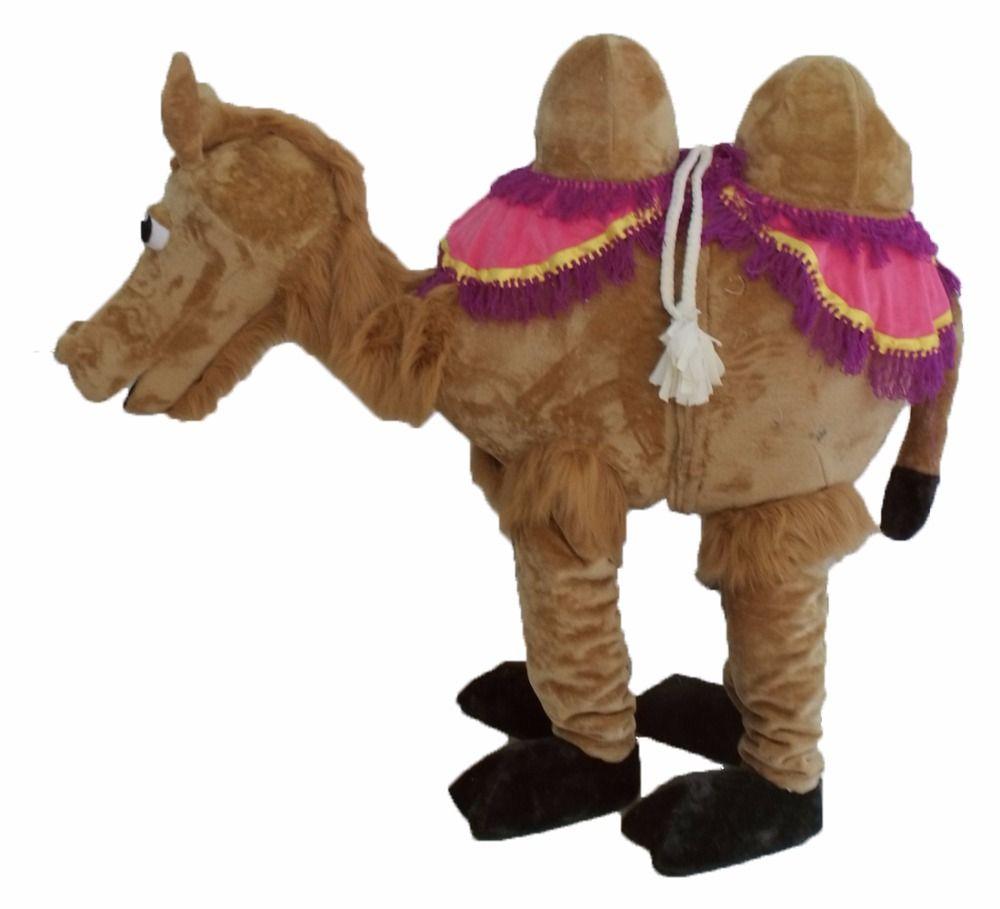 2 persona Camel traje de la mascota de encargo de lujo del traje del anime de cosplay de la mascota del vestido de lujo traje del carnaval