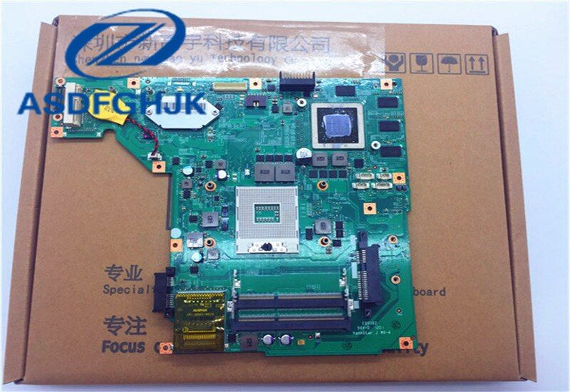 Motherboard MS-16G51 For MSI GE620DX GE620 Laptop Motherboard MS-16G5 VER 2.0 Non-Integrated DDR3 100% WORK PERFECTLY