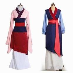 Hua Mulan Kleid Blau Kleid Prinzessin Kleid Film Cosplay Kostüm Nach Maß