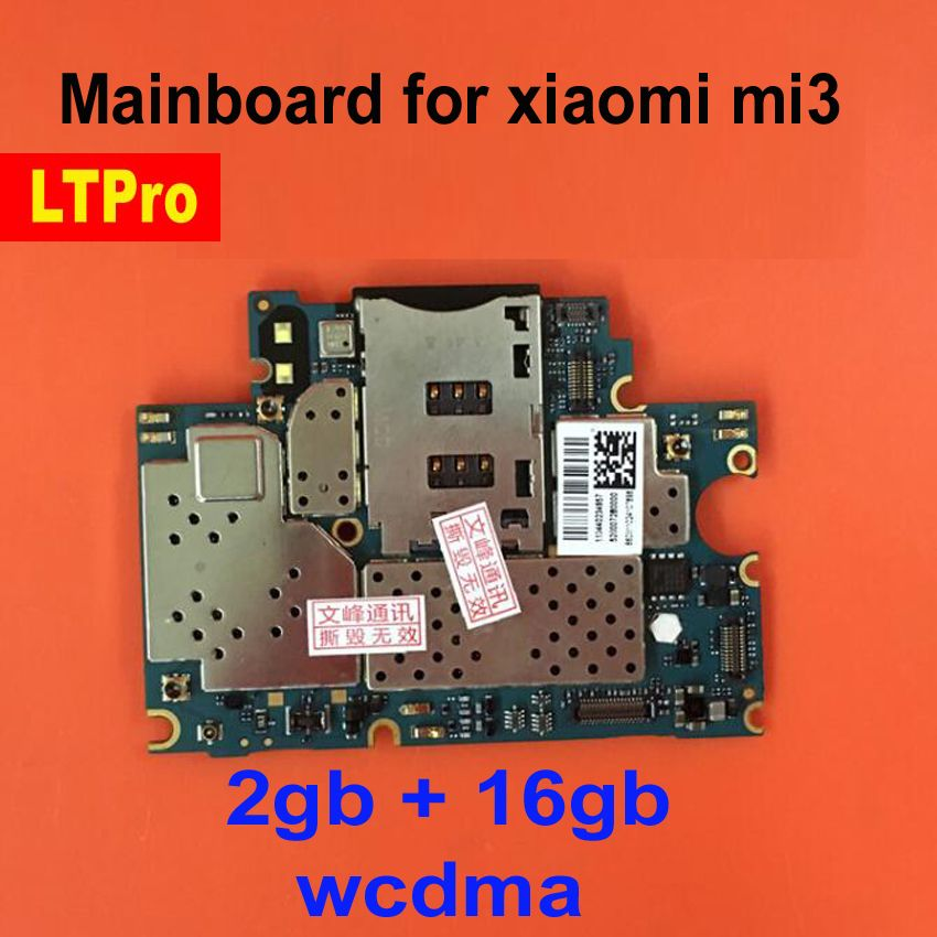 LTPro 100% Tetsed Working Mainboard For xiaomi mi3 m3 16gb Motherboard With Full Chips Logic Board , for xiao mi 3 motherboard