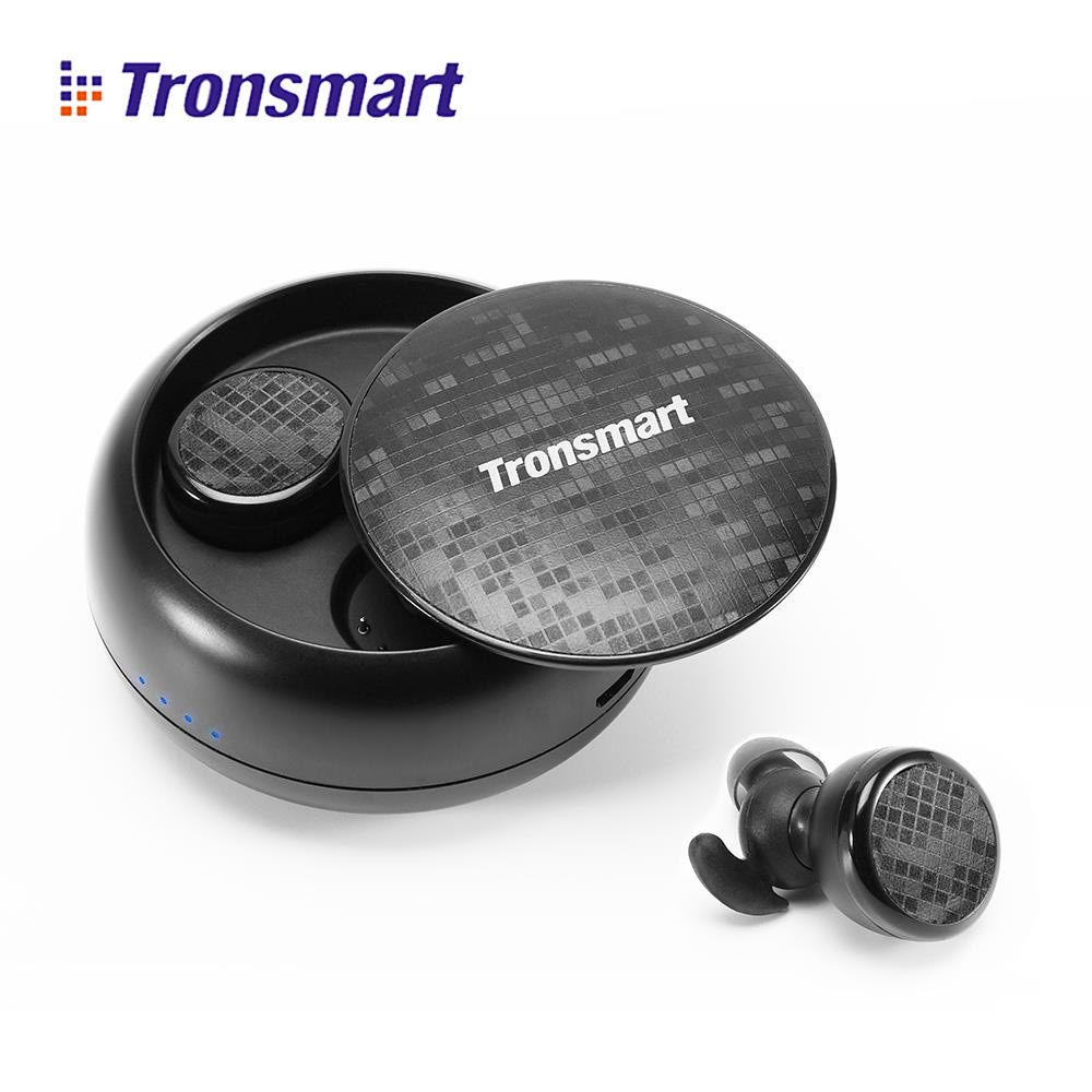 Tronsmart Spunky Buds Bluetooth Earphones True Wireless Earphone Stereo Eurbuds IPX5 Water Resistant with Mic for Phone vsxiaomi