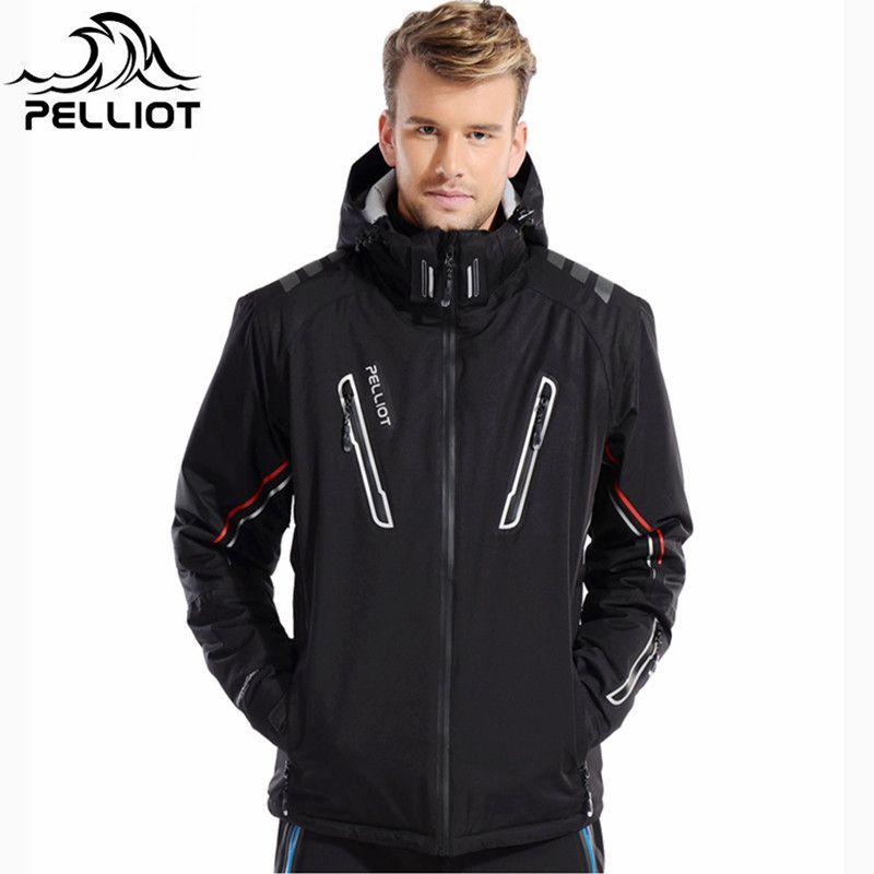 Pelliot -30 Degree Super Warm Winter ski jacket men Waterproof breathable snowboard snow jacket outdoor skiing ski clothing