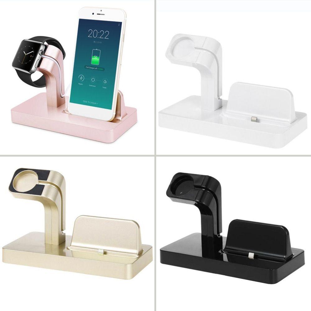 2 en 1 Station De Charge Pour Apple support de chargeur Pour Montre Apple Pour iPhone 6/6plus/6 s/7 plus Montre de Téléphone Support Pour Apple Série