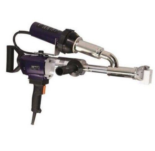 EX3 WELDY 3400W Handheld Plastic Extrusion Welding Machine kit Hot Air Plastic Welder Gun Vinyl Weld Extruder Welder Machine