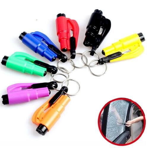 Hot Emergency Mini Safety Hammer Auto Car Window Glass Breaker Seat Belt Rescue Hammer Escape Tool New Arrival