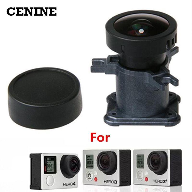 Lentille Ir 12Mp pour Gopro Hero 4 3 3 + accessoires caméra Action 150 degrés verre objectif Ultra grand Angle pour Kit de remplacement Go Pro