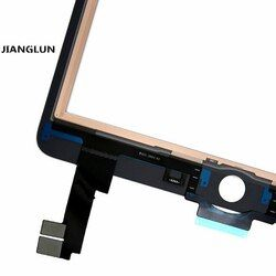 JIANGLUN Front Touch Screen Glass Lens Digitizer Replacement for iPad Air 2 2nd Gen White