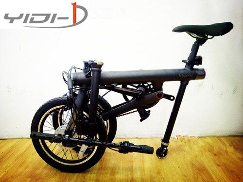 XIAOMI Qicycle EF1 electric folding bicycle accessories folding car auxiliary wheel pulley pulley booster wheel