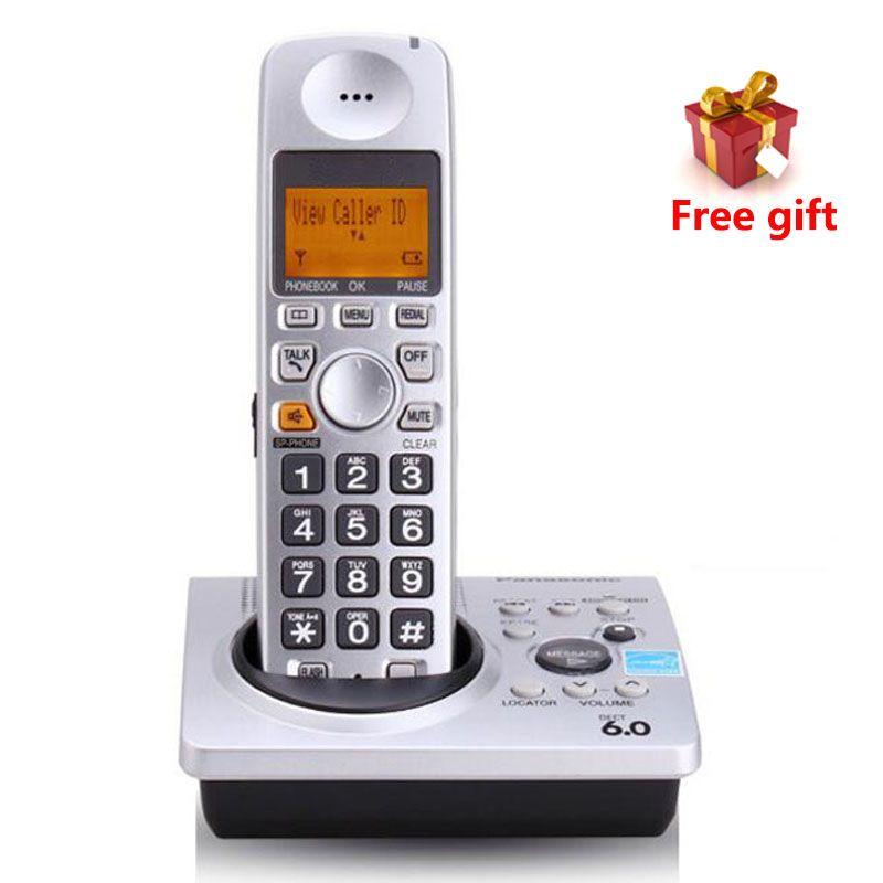 1,9 GHz DECT 6,0 Anruf-id Mit Anrufbeantworter KX-TG1031S Digitale Telefon Schnurlostelefon Voicemail Telefono Inalambrico