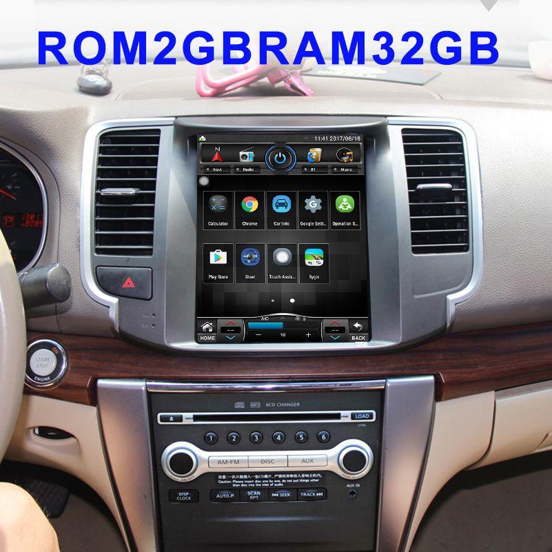 10,1 zoll RAM2GB Auto Radio Multimedia 2 din DVD-Video-Player Navigation GPS Android Für Nissan Teana j32 2008- 2013