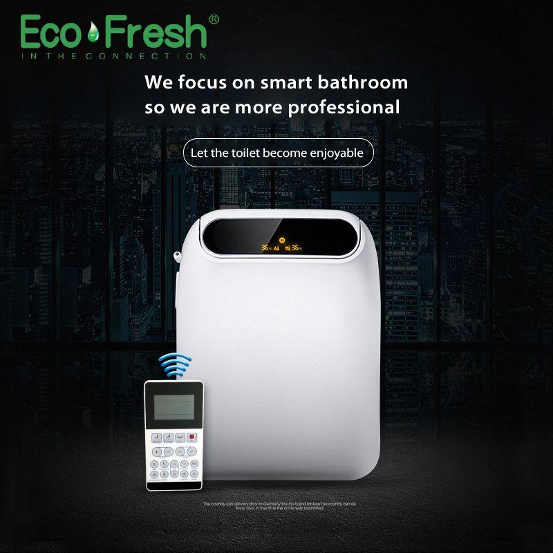 Ecofresh Smart toilet seat toilet seat bidet Washlet Electric Bidet cover heat seat led light Intelligent toilet cover auto