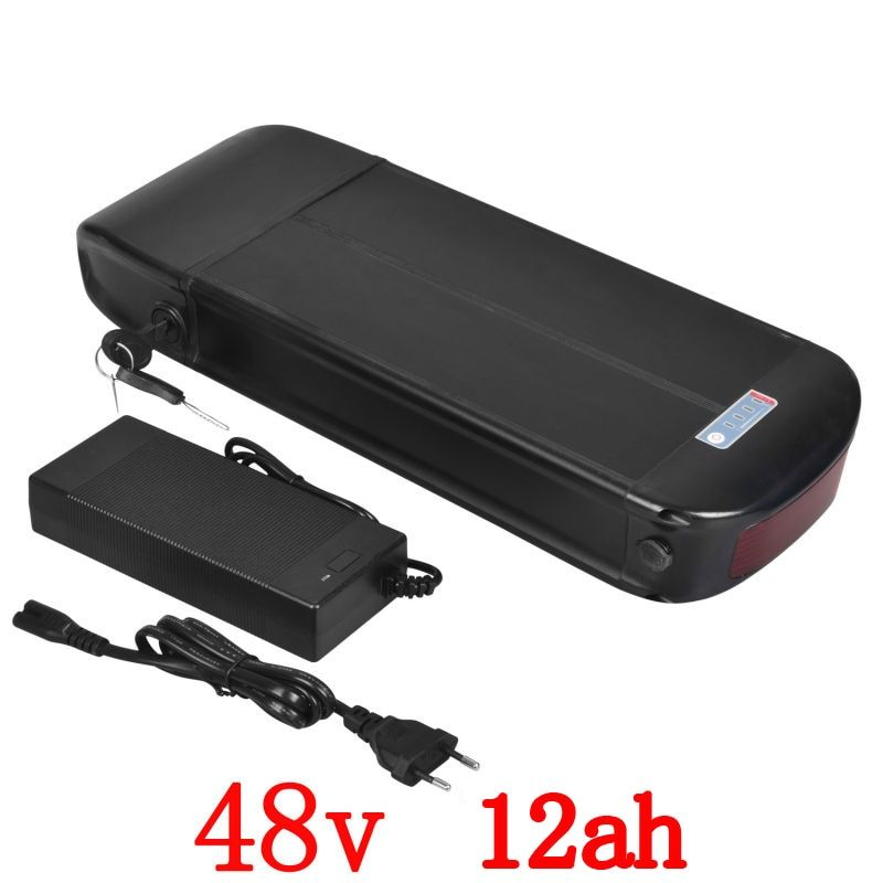 EU US Duty Free 48v 12ah 750w 1000W E-Bike Battery Scooter Lithium Battery for Bafang Motor with 2A Charger