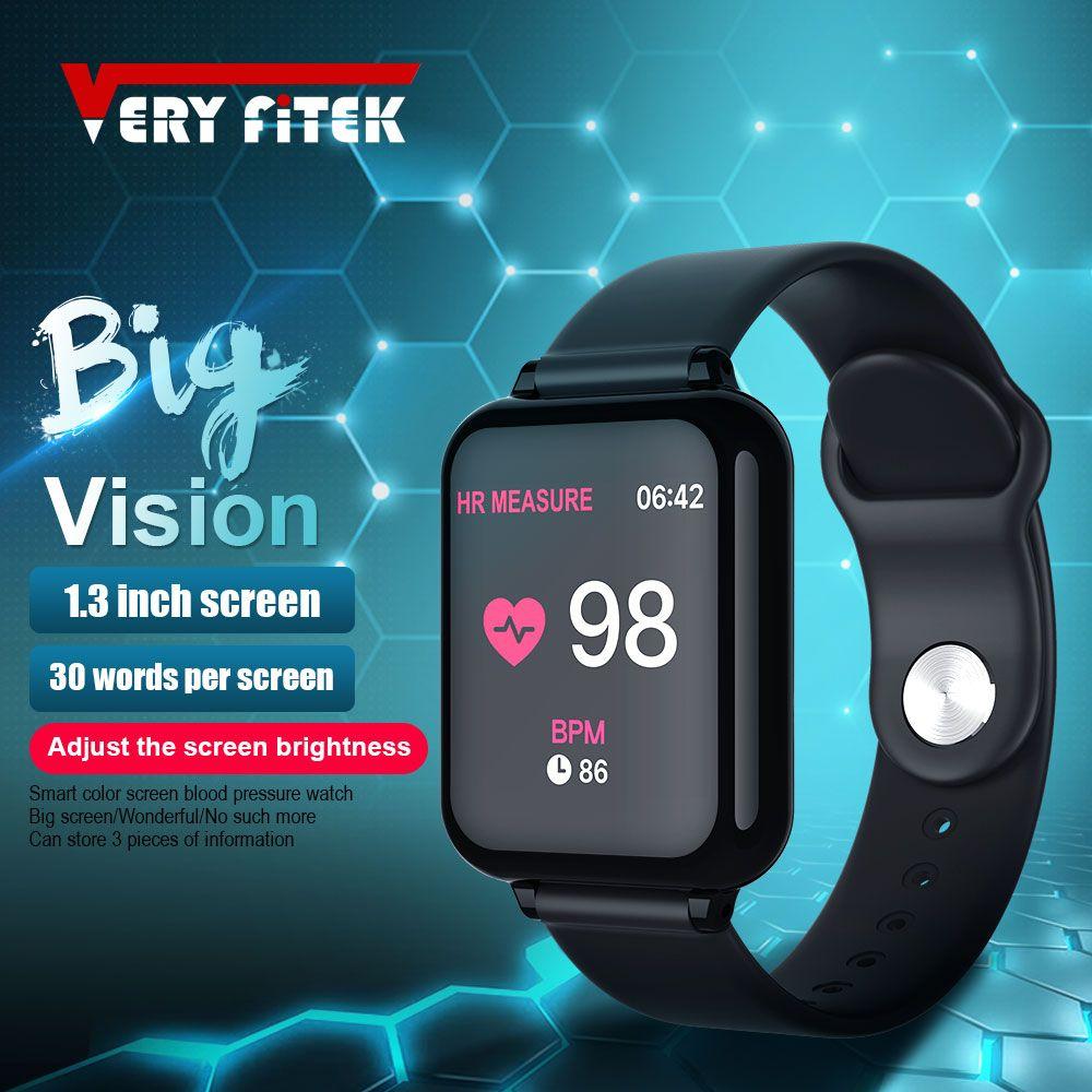 VERYFiTEK AW4 montre intelligente pression artérielle oxygène Fitness Bracelet montre moniteur de fréquence cardiaque IP67 hommes femmes Sport Smartwatch