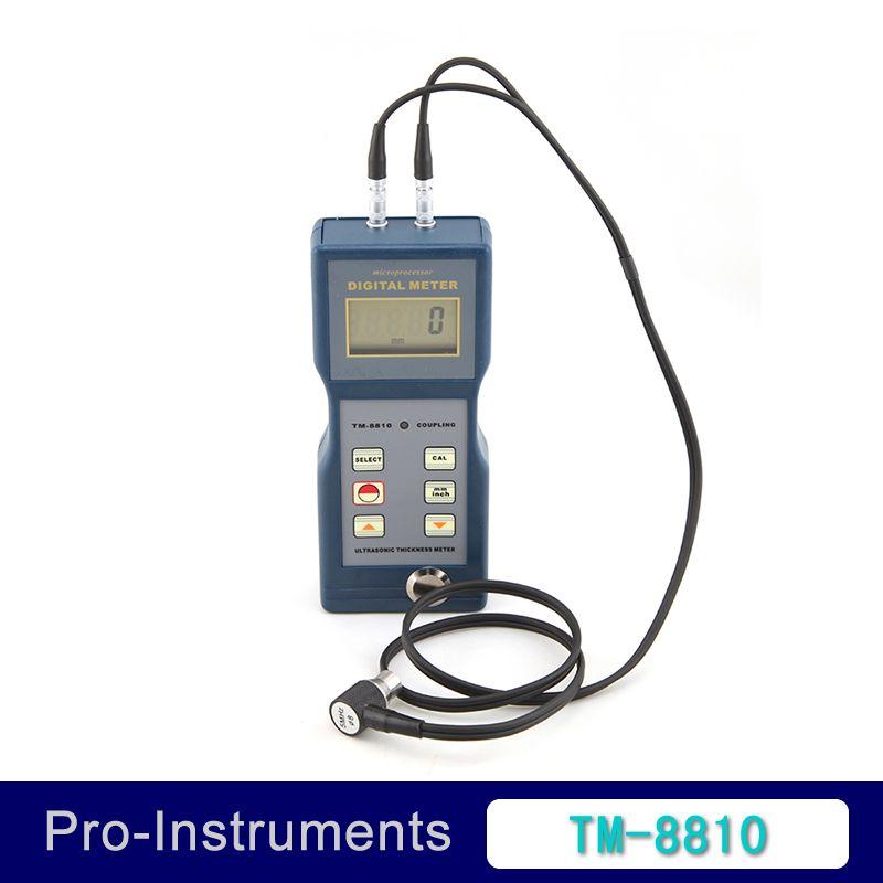 Landtek TM-8810 4 Digit LCD Digital Pipe Wall Thickness Gauge Ultrasonic Thickness Meter
