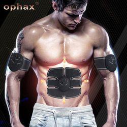Электрический стимулятор мышц EMS тренер стимуляция машина для похудения тренажер для мышц живота тренажер Средства ухода за кожей Массажер