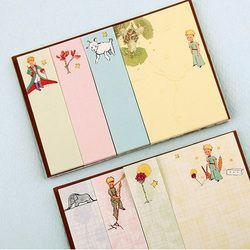 1X Kreatif Little Prince Memo Pad Rencana Mingguan Sticky Notes Post Alat Tulis Sekolah Perencana Kertas Stiker