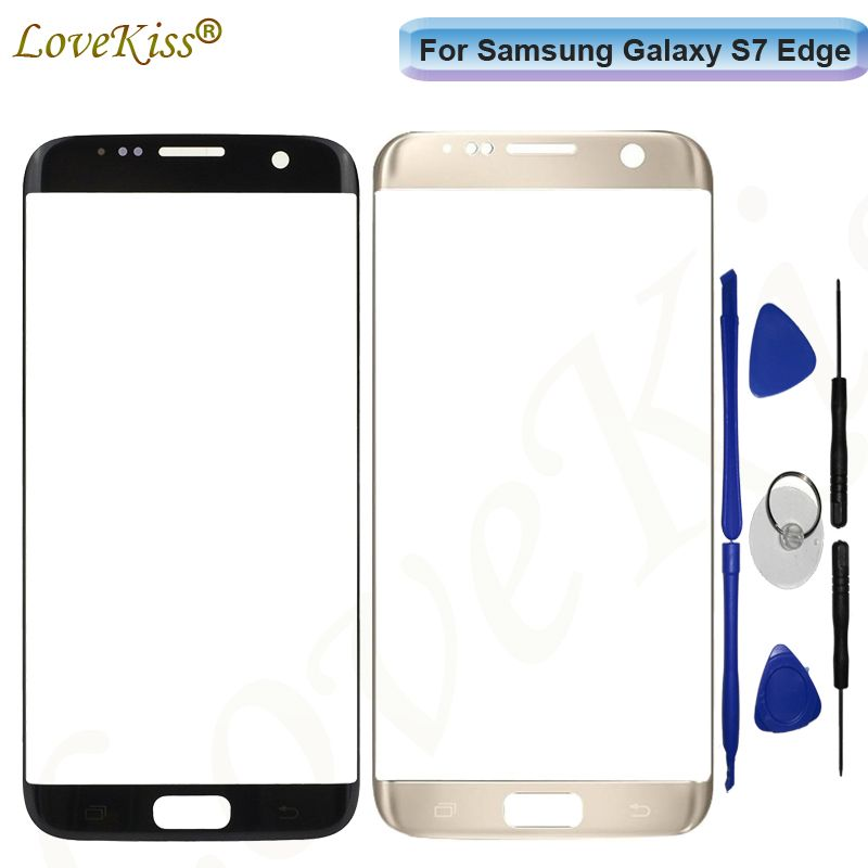 S7Edge Touchscreen Panel For Samsung S7 Edge G935 G935F G935FD Touch Screen Sensor LCD Display Digitizer Glass Cover Replacement