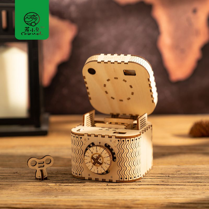 Robud DIY 3D Wooden Model Building Kits Assembly Model Mechanical Toy for Children Best Gift for Boy & Girl LK for Dropshipping