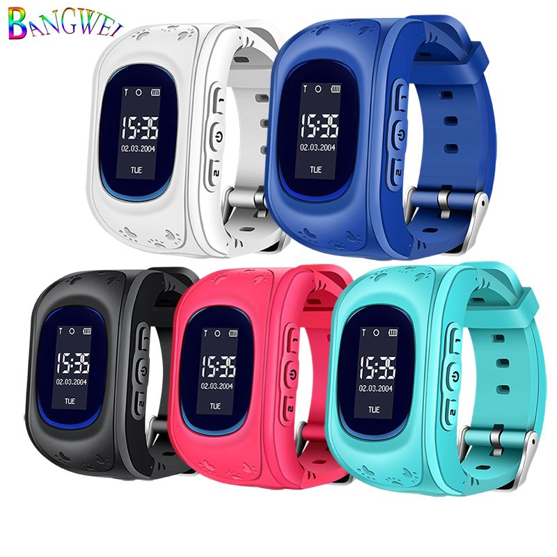 2018 New Waterproof Children Smart Watch Digital Baby Smart Watch Remote Monitoring SOS Emergency Call LBS Security Positioning