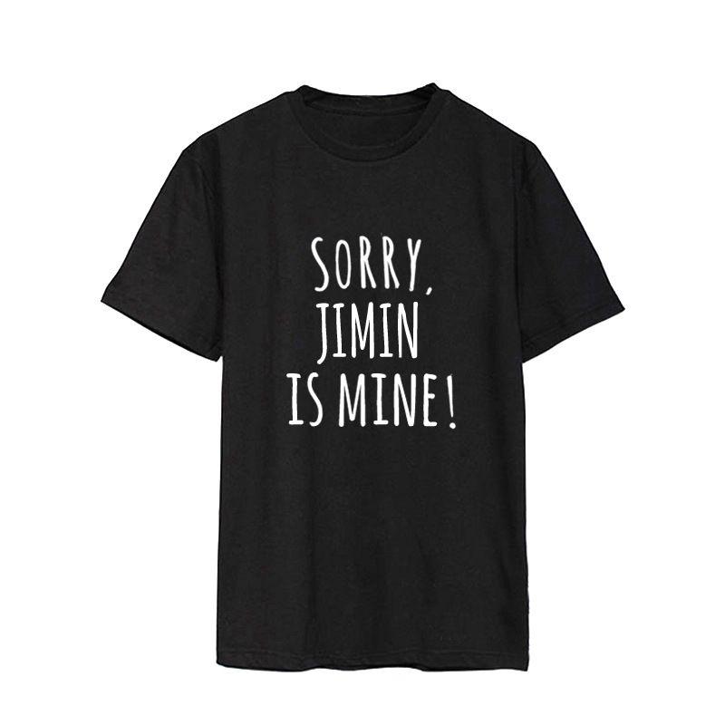 ONGSEONG Kpop BTS Bangtan Boys Album Spoof Mischief Shirts Casual Cotton Clothes Tshirt T Shirt Short Sleeve Tops T-shirt DX460