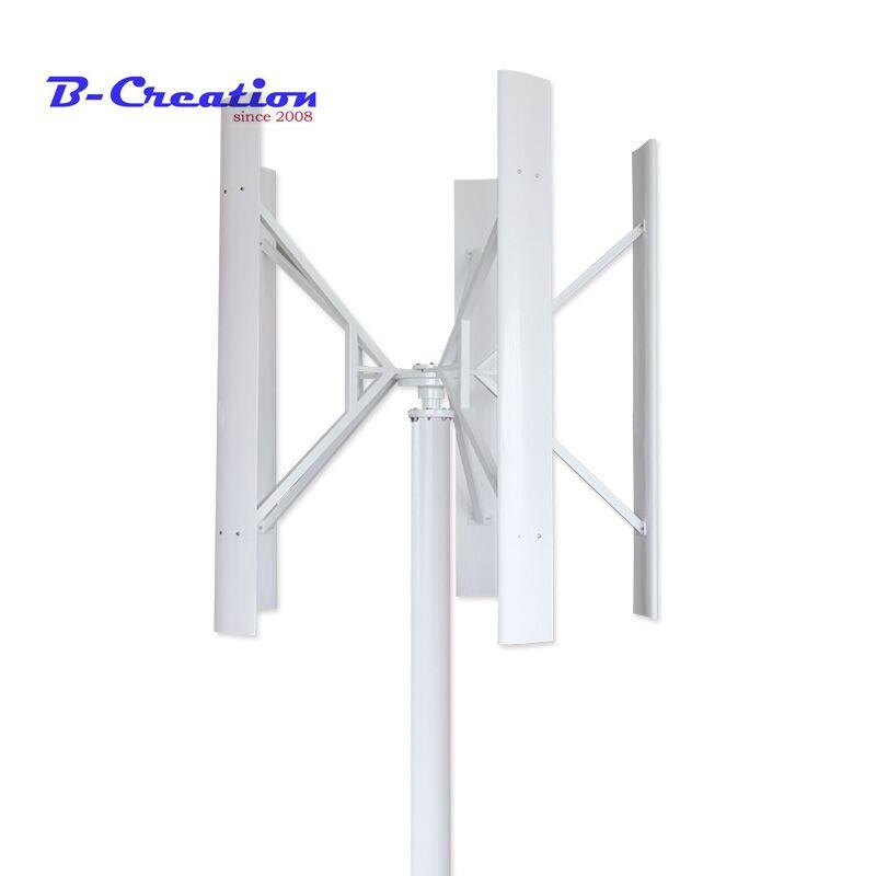 1,5 m gestartet hohe effiziente maglev wind generator 500 w 12/24 v/48 v vertikale achse wind turbine mit 800 w wind solar controller