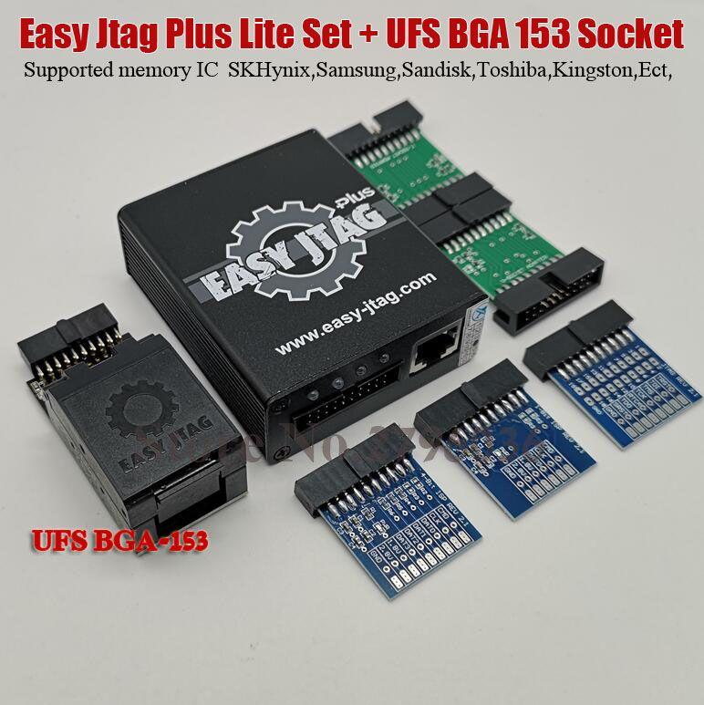 100% original Einfach Jtag Plus Lite Set + Einfach Jtag Box UFS BGA 153 Buchse