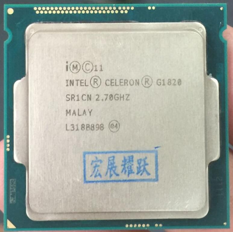 PC computer Intel Celeron Processor G1820 (2M Cache, 2.7 GHz) LGA1150 Dual-Core 100% working properly Desktop Processor