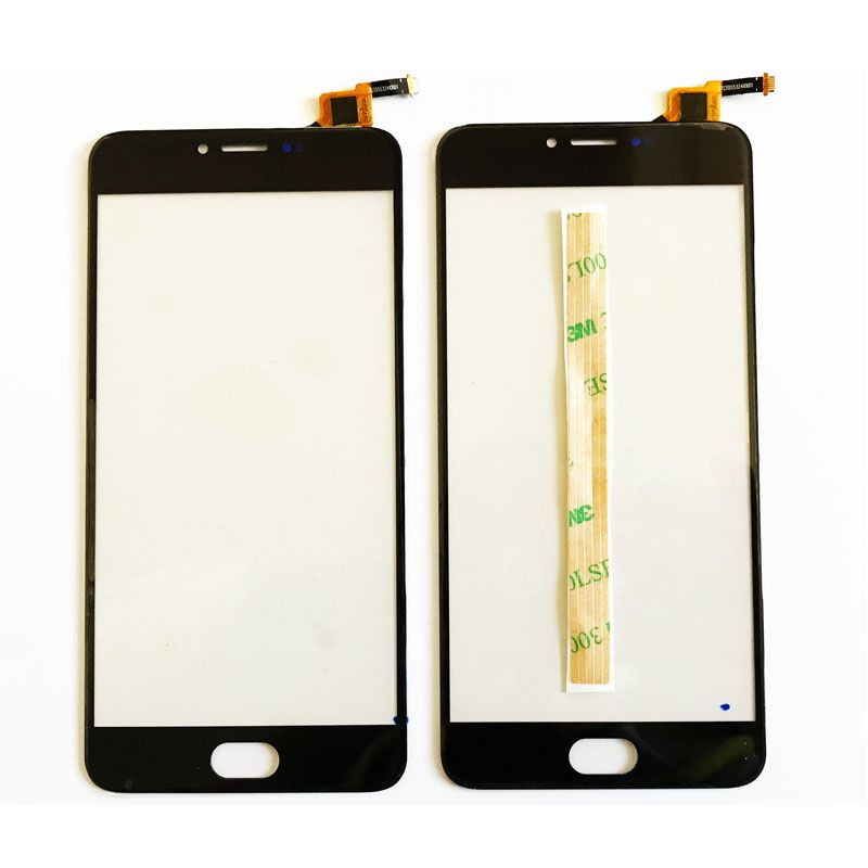 New M3 Note Touch Screen For Meizu M3 Note L681H Digitizer Glass Panel Touchscreen Front Lens Sensor With 3M Adhesive Tape