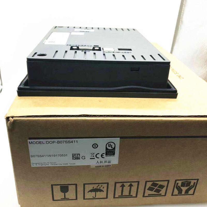 Original Delta tela de toque HMI DOP-B07SS411 7 polegada 800*480 Human Machine Interface de Exibição
