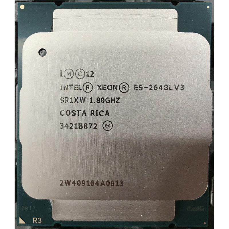 E5 2648LV3 positive 12/24 1.8 loaded with 2.1 core 2.5G spell 2650V3 V4
