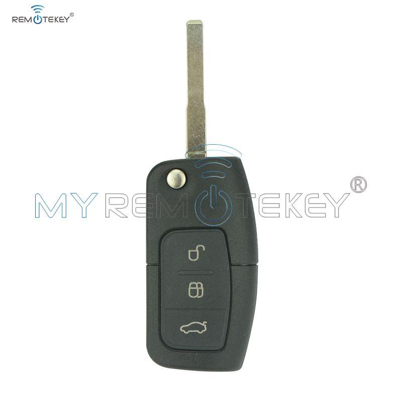 Flip télécommande voiture clé pour Ford b-max Fiesta Focus Galaxy Kuga s-max 2008 2009 2010 2011 ID63 puce 433 Mhz 3M5T 15K601 AB Remtekey