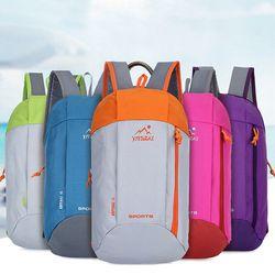 Outdoor Sport Light Weight 10L Hiking Backpack Knapsack Travel Waterproof Bag Zipper Adjustable Belt Camping Laptop Soft
