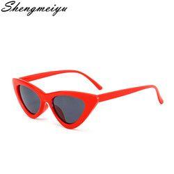 Nuevo Vintage gato ojo gafas de sol mujer marca diseñador personalidad exagerada señoras gafas Oculos Lunette Femme
