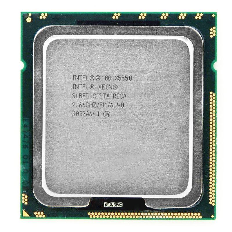 Kostenloser Versand INTEL X5550 service CPU/2,66 GHz/LGA1366/8 themen/L3 Cache 8 MB/Quad-Core/scrattered stücke motherboard
