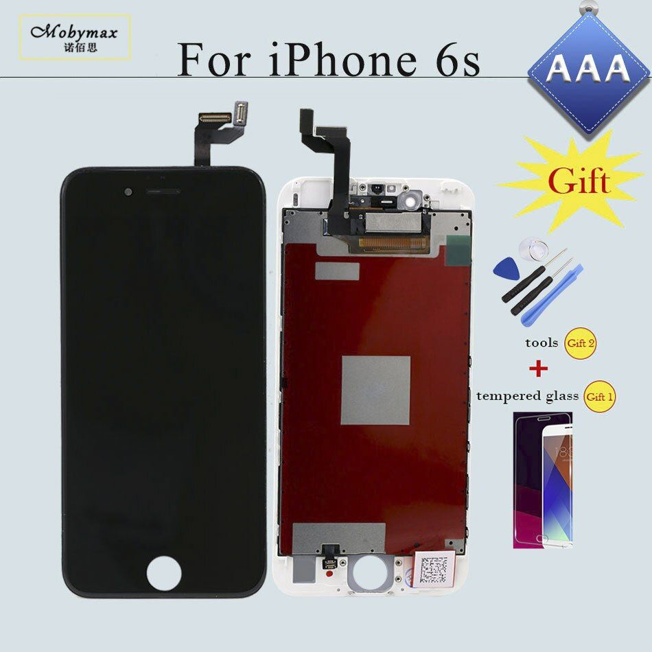 for iPhone 6s 7 LCD Display Screen Touch Digitizer Replacement Assembly for iPhone 6 5S 4s Display Ecran No Dead Pixel with Gift