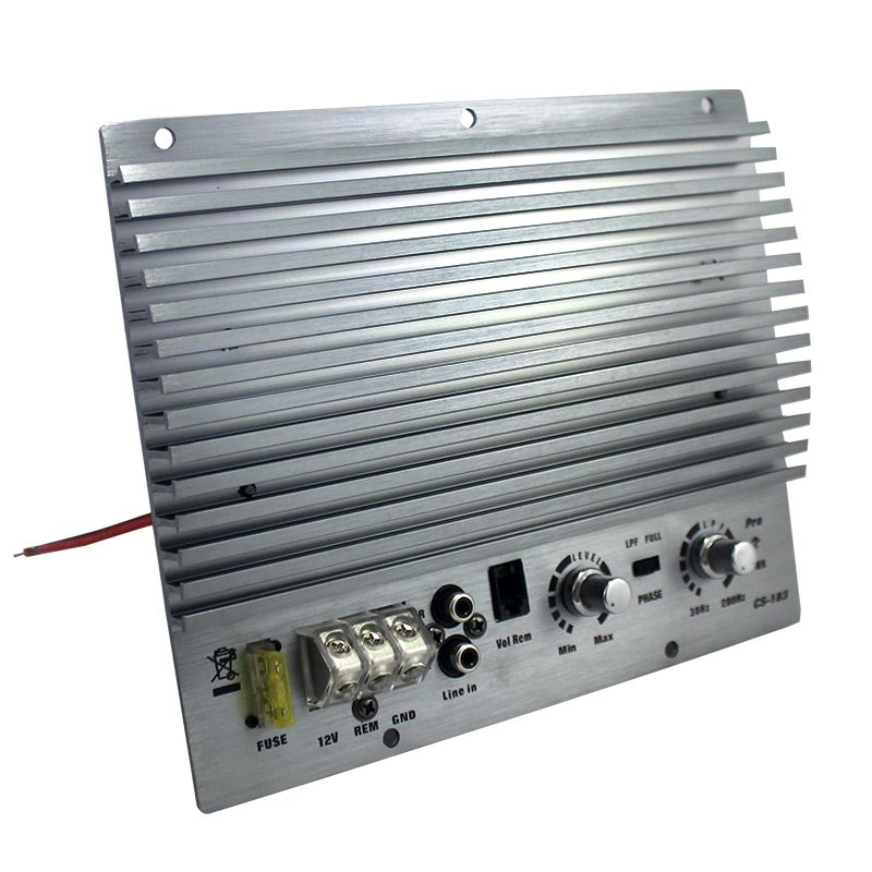 HiFi High Power 1000W 12V Car Amplifier Bass Subwoofer Booster 1000W Super-Power Auto Amplifiers Silver I Key Buy