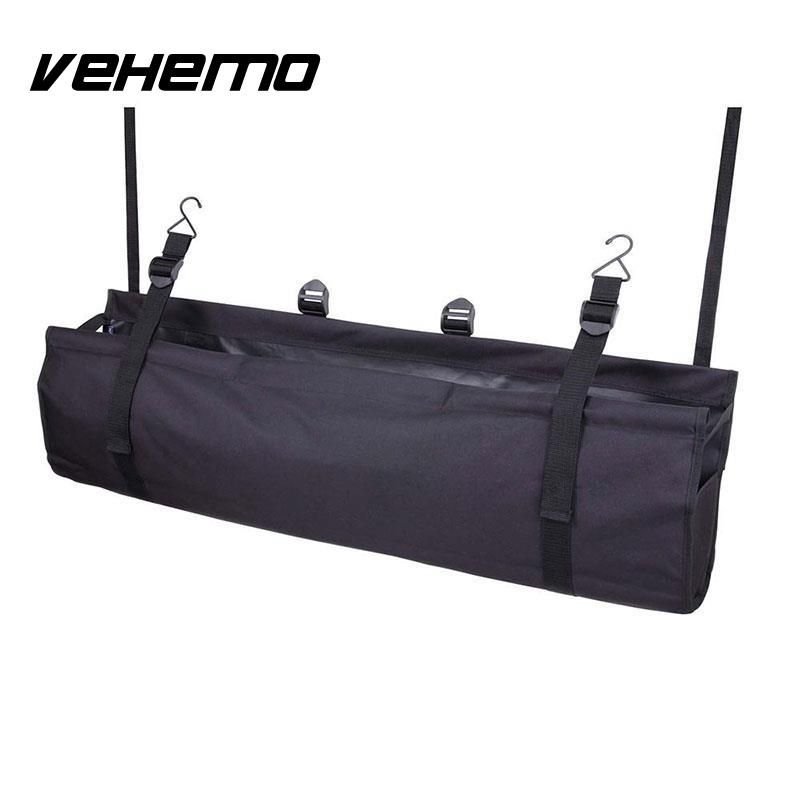 Vehemo 2017 NEW Arrival High Quality Universal Car Interior Seat Back Multi-Pocket Organizer Auto Travel Storage Bag 1PC