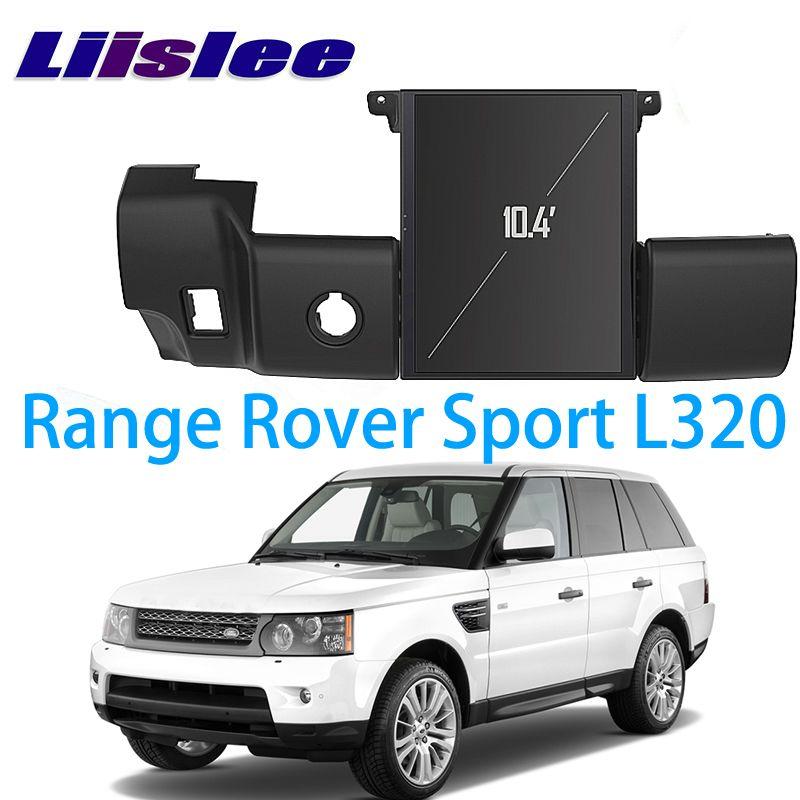 LiisLee Auto Multimedia GPS Audio Radio Stereo Für Land Rover Range Rover Sport L320 2009 ~ 2013 Original Stil Navigation NAVI