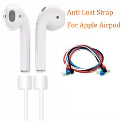 Anti Lost Strap For Apple Airpods Loop String Rope Air Pods Cord For iphone 7 8 Silicone Earphones Cable Headphone Accessories