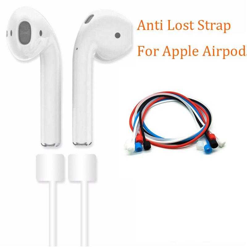 Anti Verloren Band Für Apple Airpods Schleife String Seil Air schoten Kabel Für iphone 7 8 Silikon Ohrhörer Kopfhörer zubehör