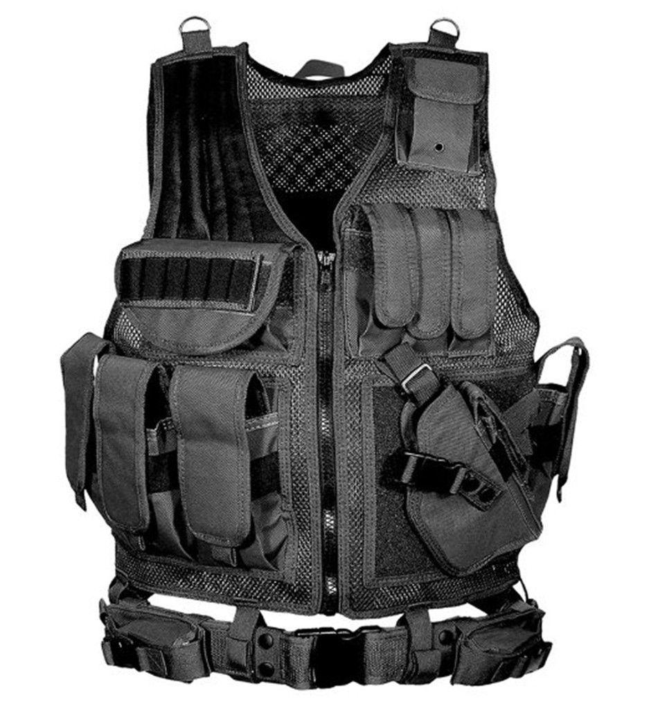 Shanghai Geschichte Taktische Mesh Weste Camo Tactical Weste armee kampfuniform militärische taktische Strafverfolgung Weste 5 Farbe